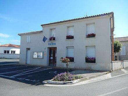 Mairie de Sablonceaux