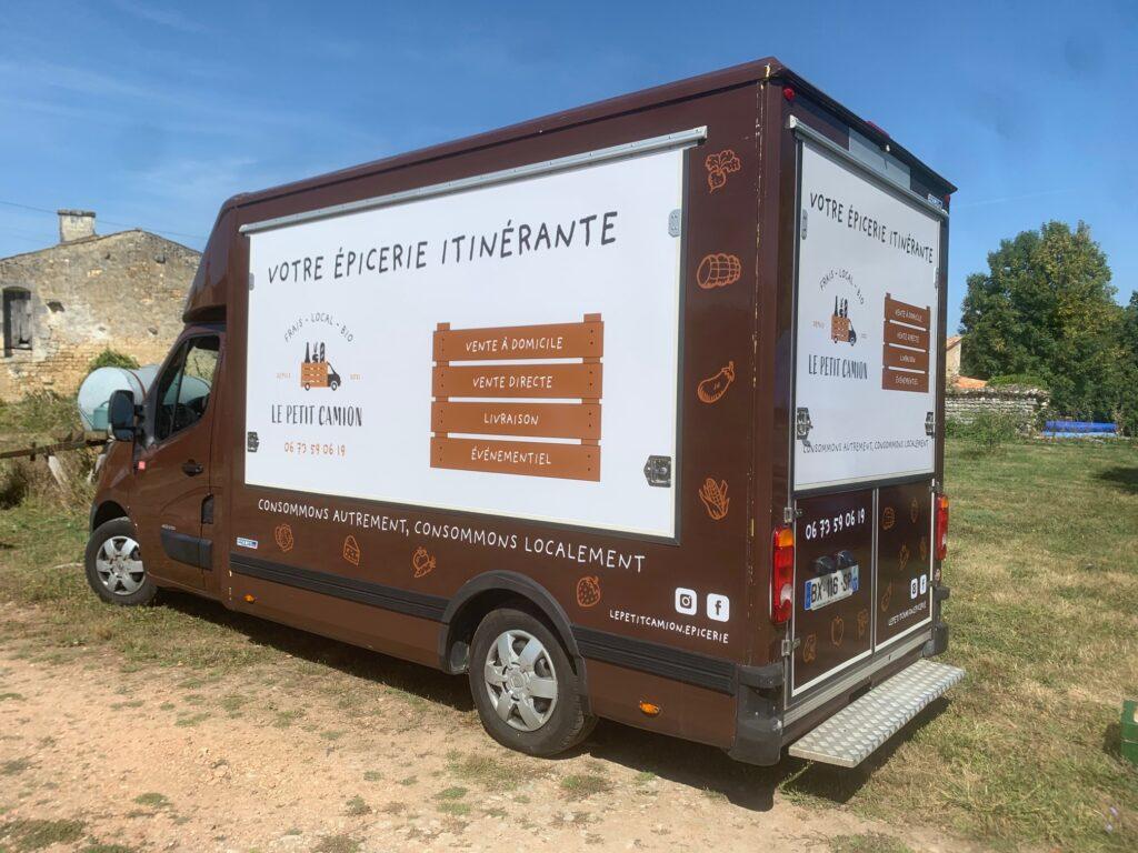 Camion épicerie Sablonceaux